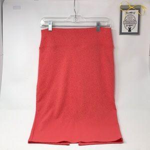 Derek Heart Pencil Skirt, Sz L